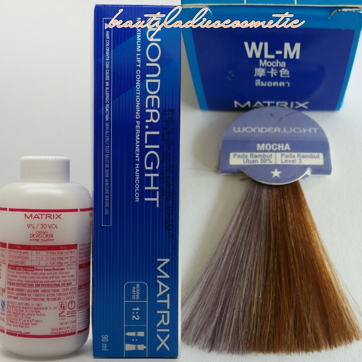 Jual Matrix Hair Color Wonder Light Mocha 90 Ml Beauty Ladies