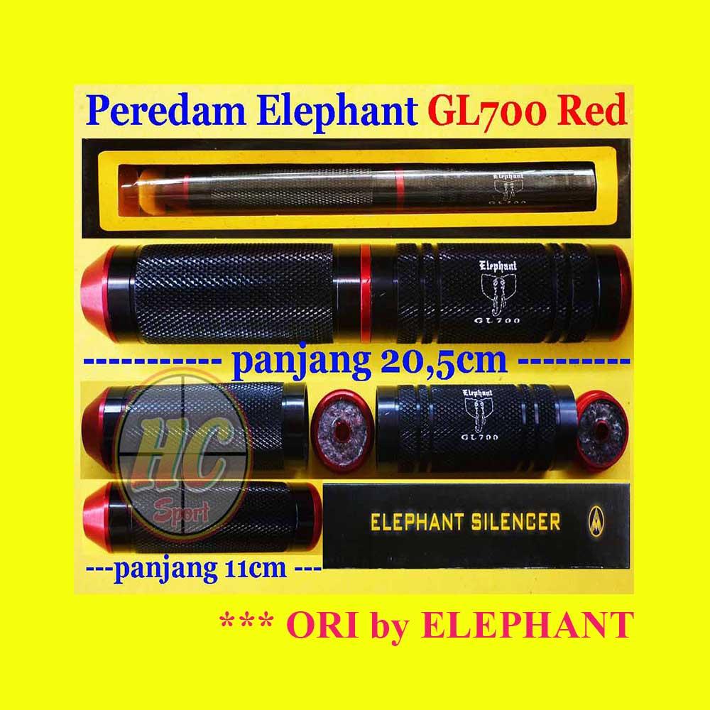 Jual Peredam Silencer Elephant Gl700 Red Herychrist789 Tokopedia