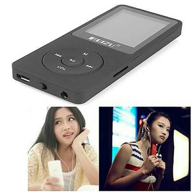 Ruizu X02 Hifi Dap Mp3 Player 4Gb Limited