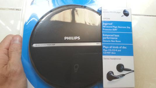 PHILIPS PORTABLE MP3-CD PLAYER EXP2546 Murah
