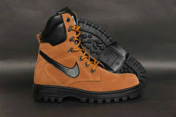 nike city boot safety tan Murah