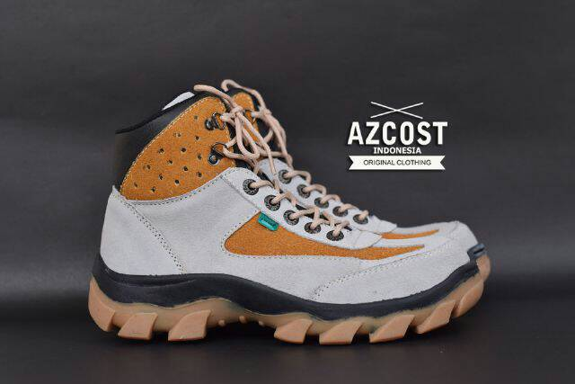 sepatu boot safety azcost tracking cream Murah