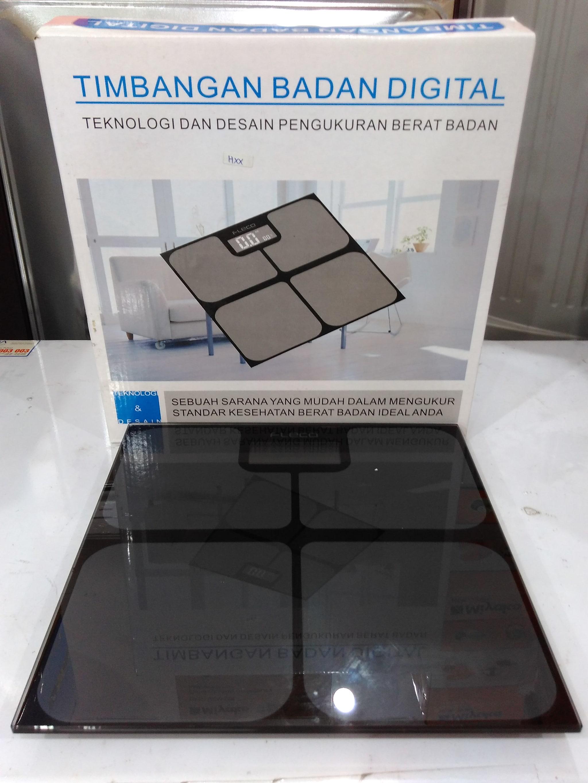 Jual Timbangan Badan Digital Fleco Sinar Terang Electronik Tokopedia Kaca Elektronik