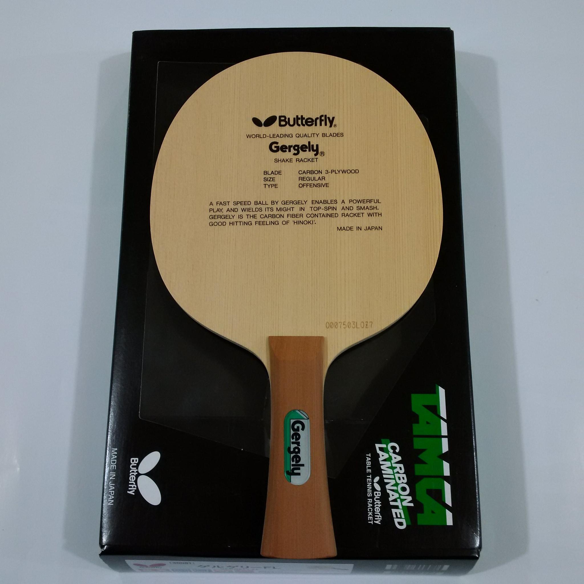 Jual Kayu Blade Pingpong Tenis Meja Butterfly Gergely