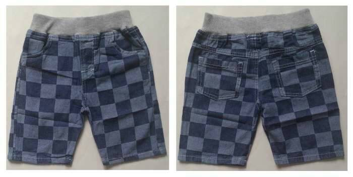 CLKDL9 - Celana Anak Laki Jeans Wash Kotak Besar