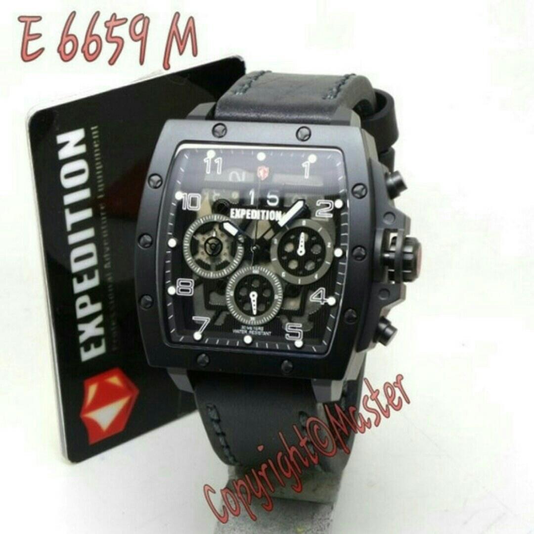Jual Jam Tangan Expedition E6698 Fullblack Androwjamtangan Tokopedia E6372 Full Black Original