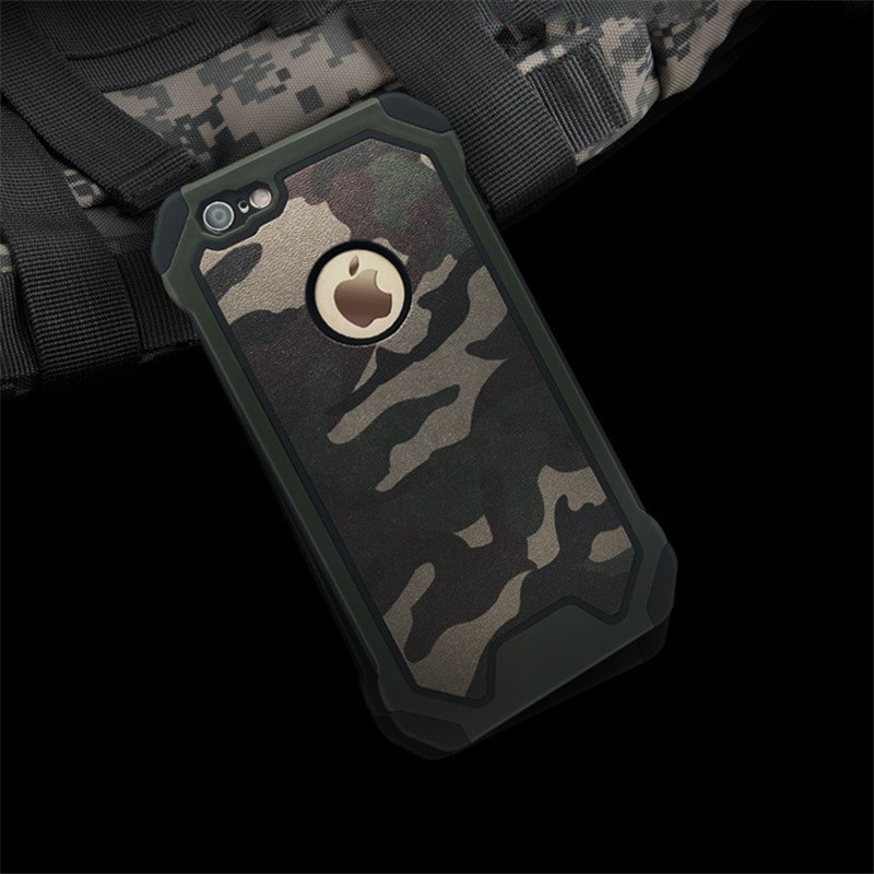 Apple iPhone SE Military Dual Tough Armor Case XPHASE Army Edt