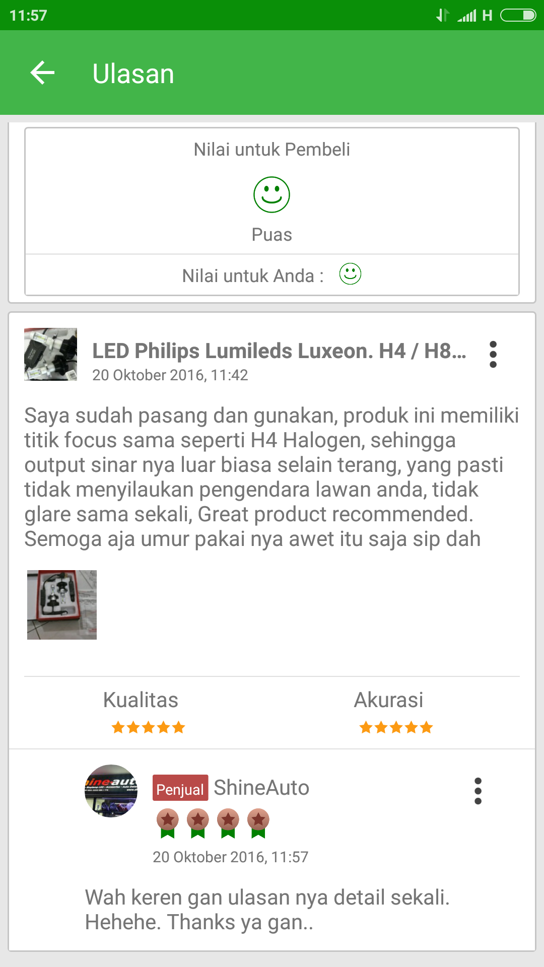 Jual LED Philips Lumileds Luxeon H4 H8 H11 H3 HB4