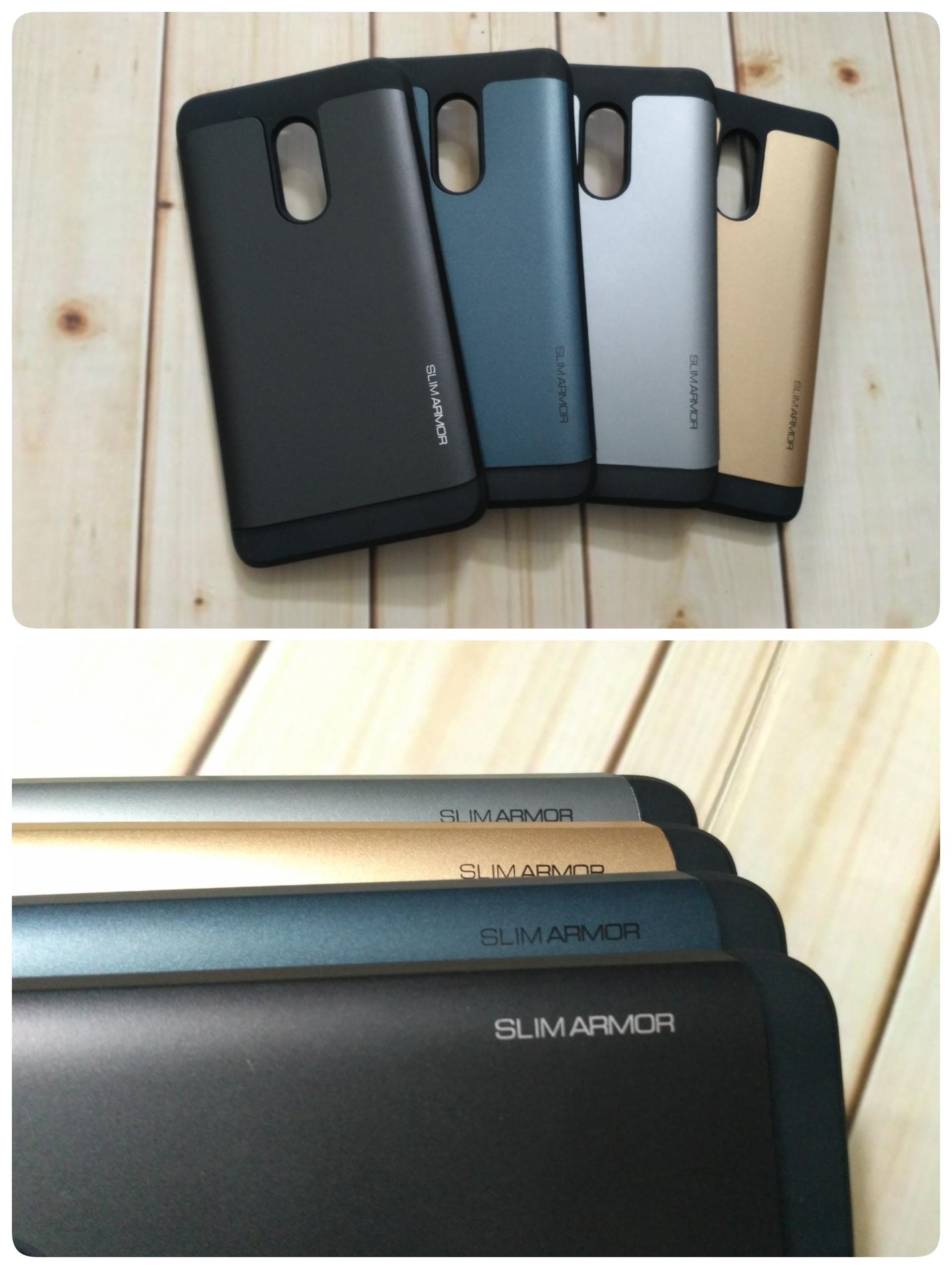 new products 980fc f67c3 Jual Spigen Slim Armor Xiaomi Redmi Note 4 (Tough/Hard Case ...