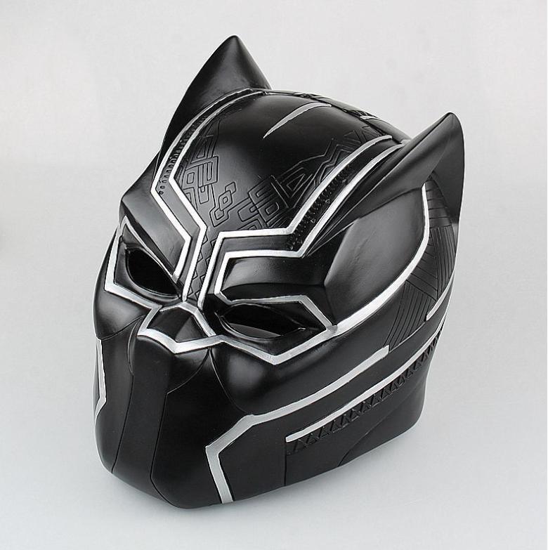 jual black panther helmet helm cosplay marvel captain. Black Bedroom Furniture Sets. Home Design Ideas