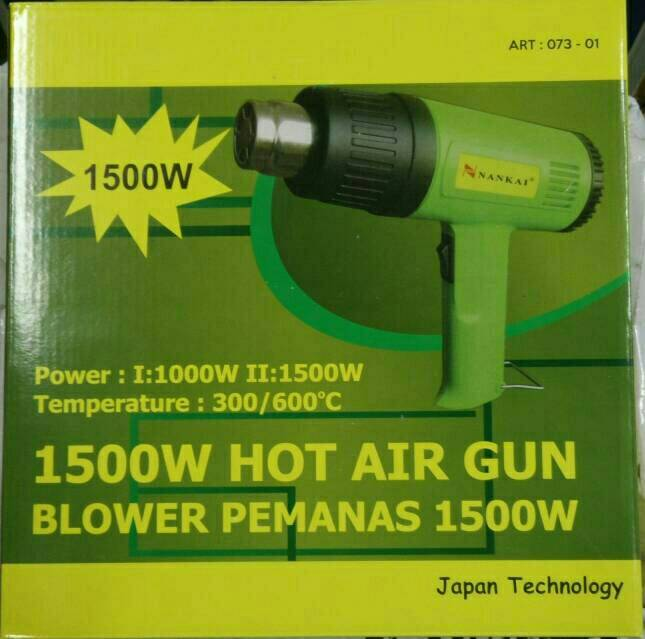HOT AIR GUN NANKAI 1500W KUAT KUALITAS MADE IN JAPANG