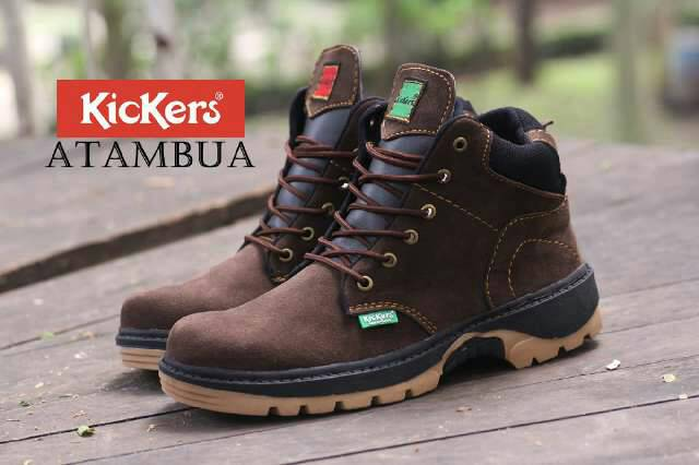 kickers atambua brown safety Murah
