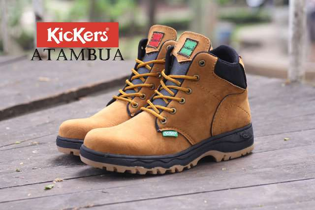 kickers atambua tan safety Murah