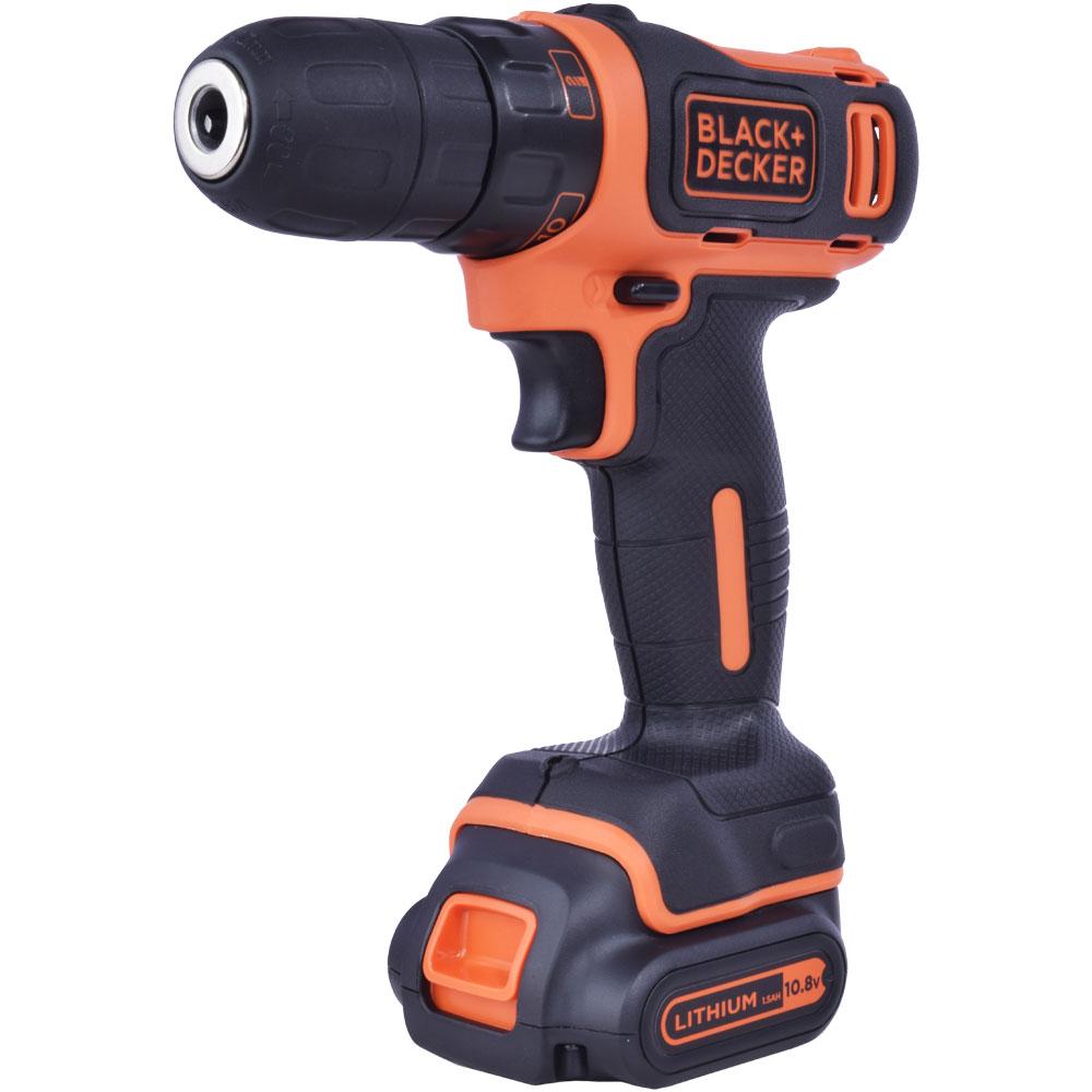 Black + Decker 10.8 Volt Drill Driver 1 Battery BDCDD12B1