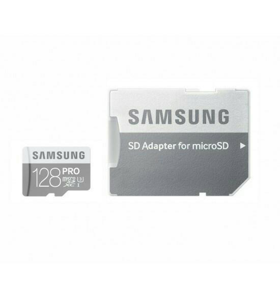 Samsung 128GB MicroSD Memory Card Pro Class 10 UHS-I 90MB / S