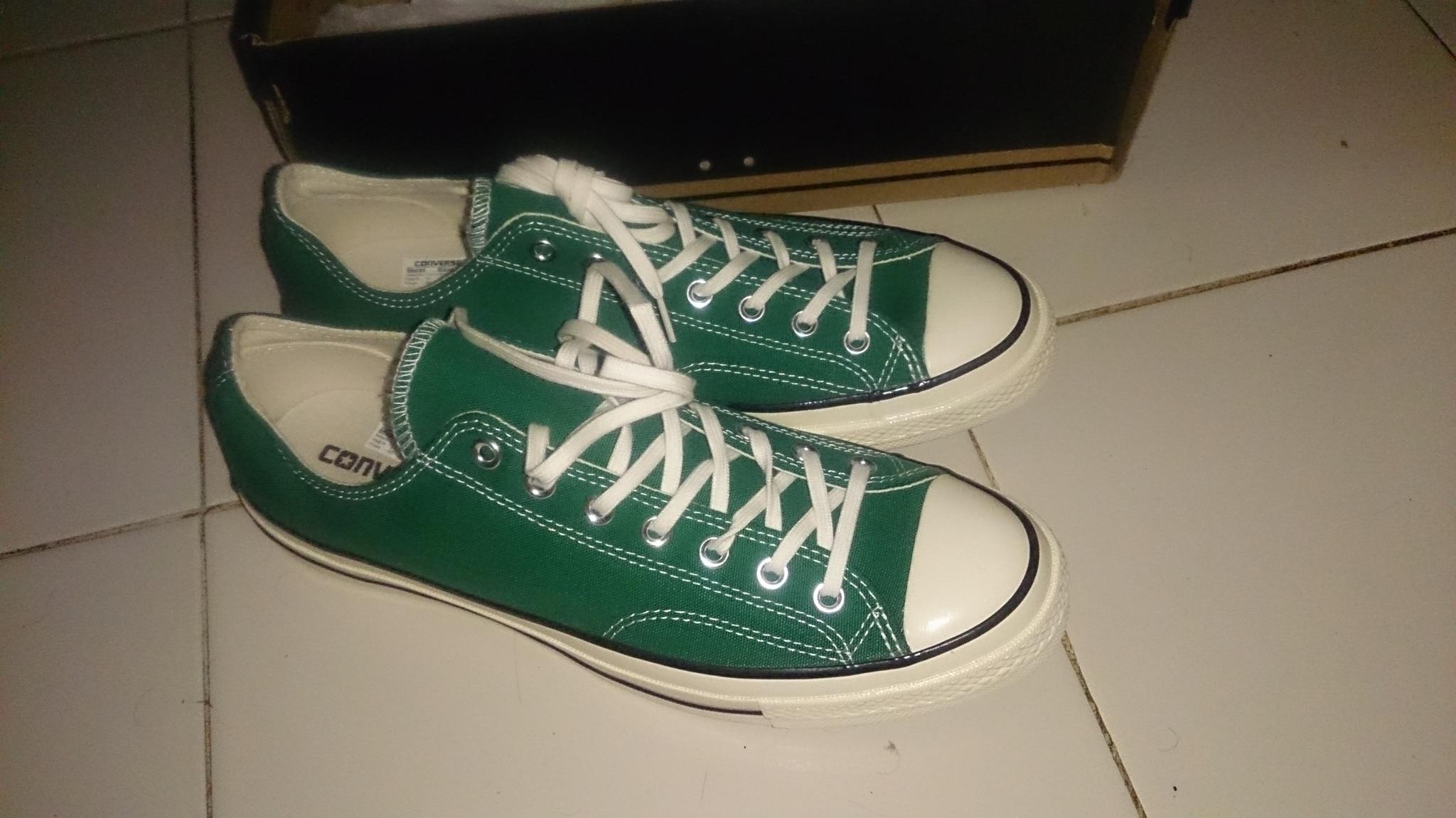 Jual Sepatu Converse Ct70 Amazon Green Ukuran 45 Harga Sepatu Fila Semi  Premium Gambar Yang Asli 5713a17815