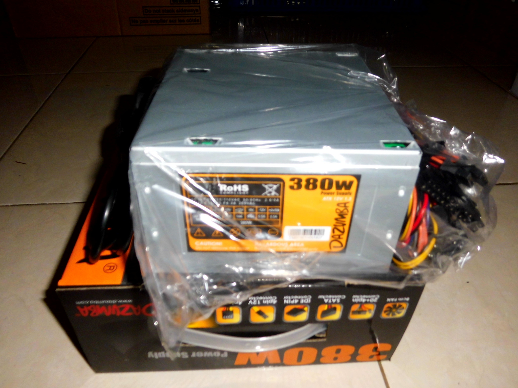 Dazumba Power Supply 380w Silver Referensi Daftar Harga Terbaru 750w 80plus Gold Modular Powersupply Rumah It Source Jual