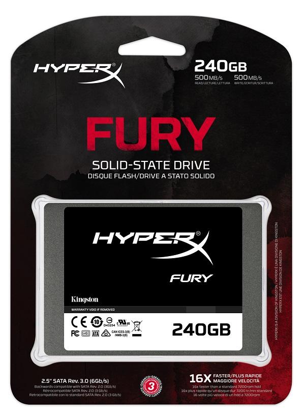 SSD Kingston HyperX Furry 240gb