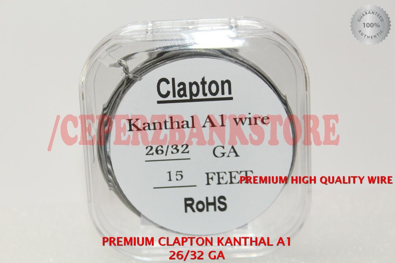 Jual PREMIUM CLAPTON KANTHAL A1 WIRE 26/32 GA High QUALITY ROHS ...