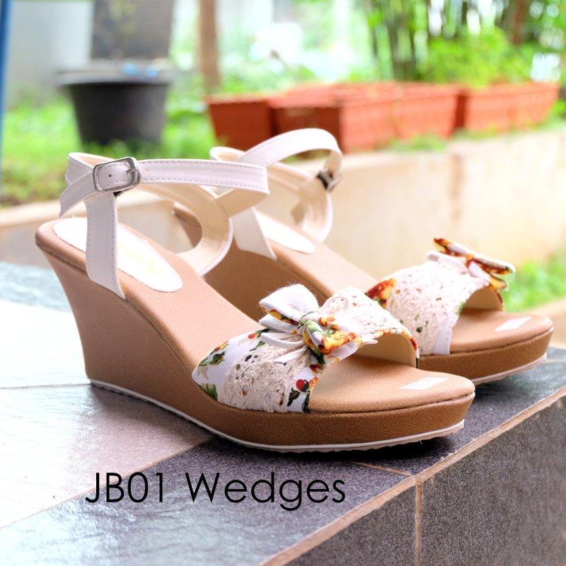 ... Model Wedges Mulan Source · Sepatu Wedges Webshoes Mollyca Zw003 3 Daftar Harga Terbaru Source Jual WEDGES JB01 MURAH Sandal