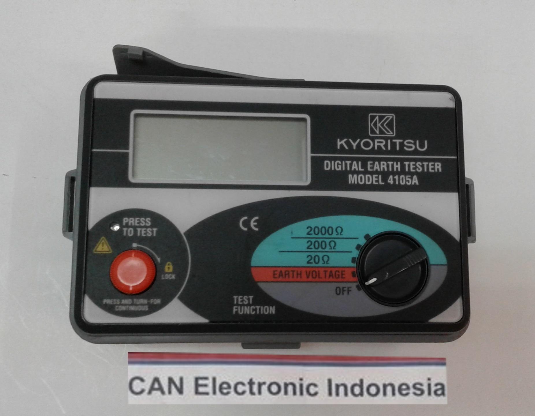 Harga Dan Spesifikasi Digital Earth Tester Terbaru 2018 Kyoritsu 4300 Jual 4105a Can Electronic Tokopedia