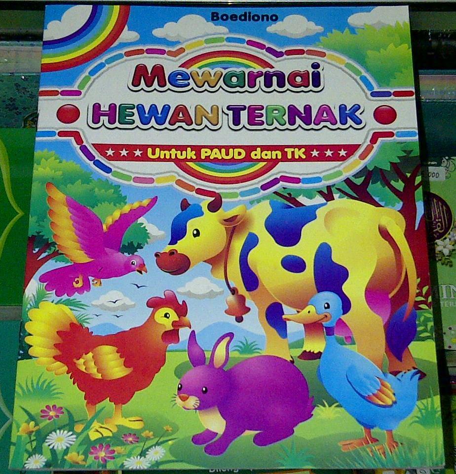 Jual Buku Anak buku belajar Mewarnai ukuran besar Roudhotul Tholabah