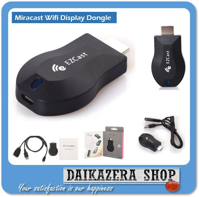 EzCast HDMI Dongle Wifi Display Receiver M2 Android 1080P Chipset