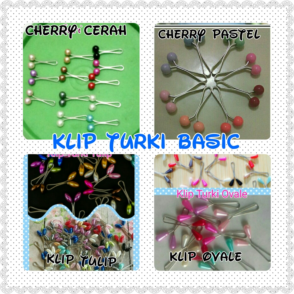Jual Klip Turki Hijab Bros Penjepit Pashmina Alulas Turky Collection Tokopedia