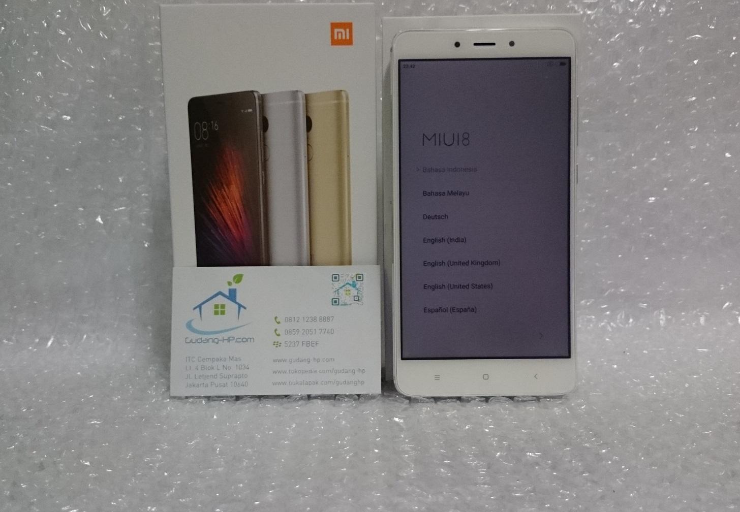 Jual Xiaomi Redmi Note 4 3GB 64GB Deca Core