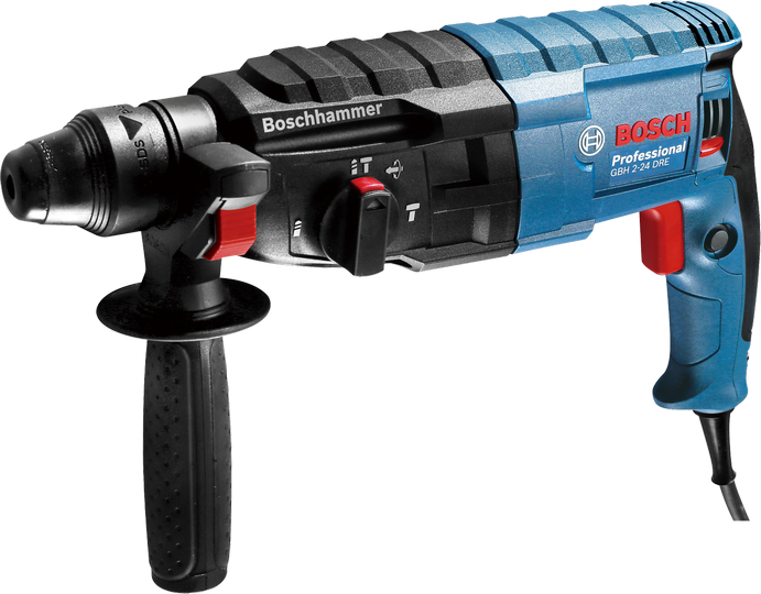 BOSCH GBH2-24DSE / GBH 2-24 DSE Mesin Bor Beton Rotary Hammer Kuat S