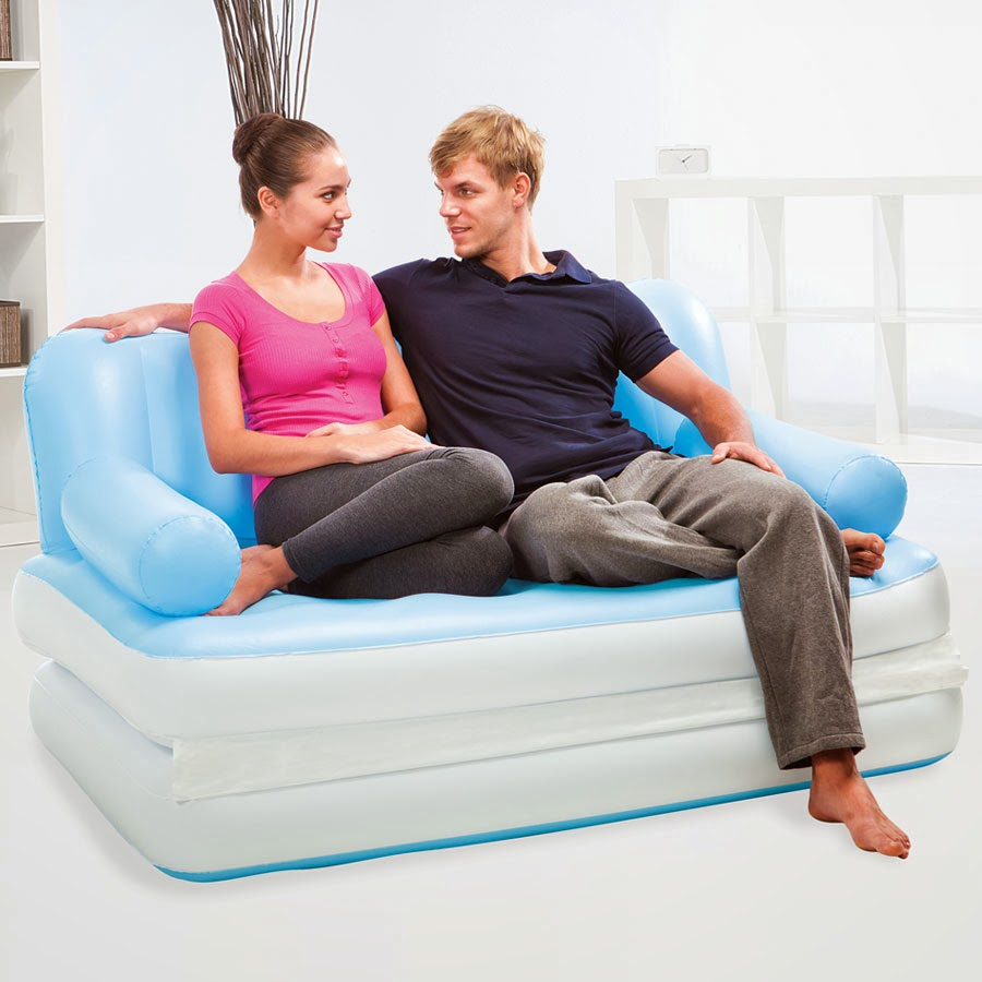 jual air sofa bed 5 in 1 kasur angin bestway serbaguna - anyelir