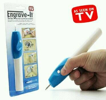 Engrave It Pen Alat Ukir Elektrik Dengan Mata Cadangan