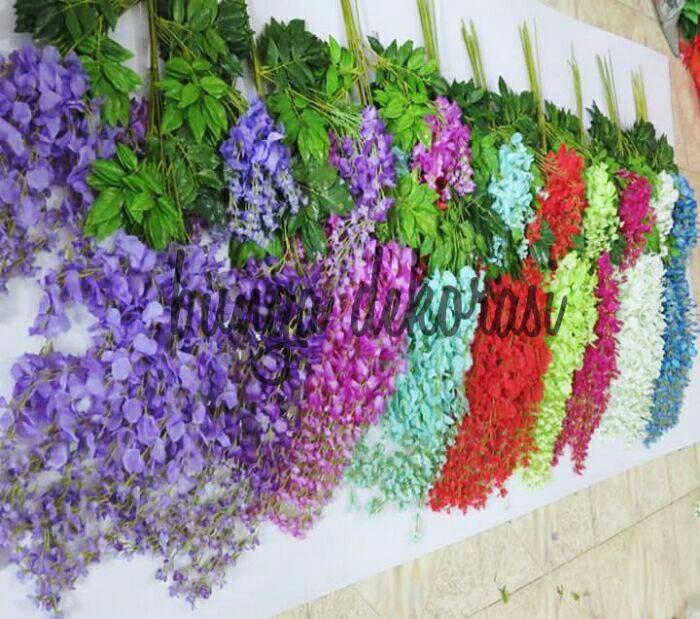 Jual Bunga Plastik Artificial Flower Wisteria - Bunga Dekorasi ... f00615c4c0