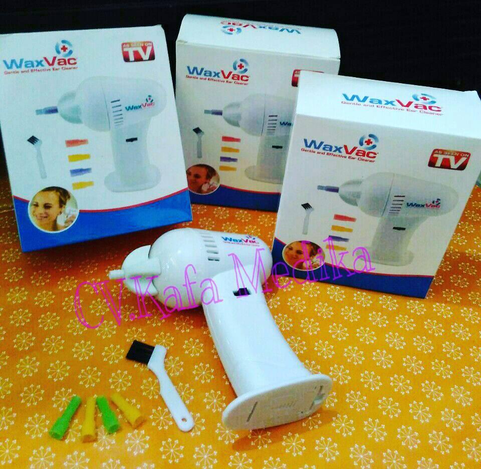 Jual Wax Vac Ear Cleaner Pusat Alkes Jogja Tokopedia Electric Vacuum Removal Alat Pembersih Telinga Whit