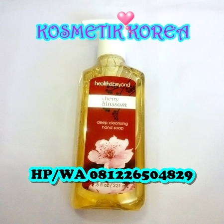 Deep Cleansing Hand Soap 221ml Health& Beyond Cerry Blossom
