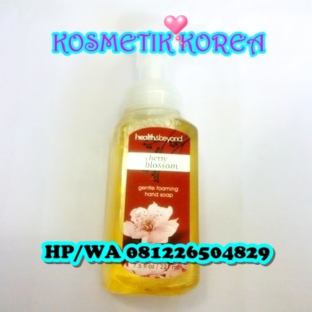 Gentle Foaming Hand Soap Health&beyond 221ml Cerry Blossom