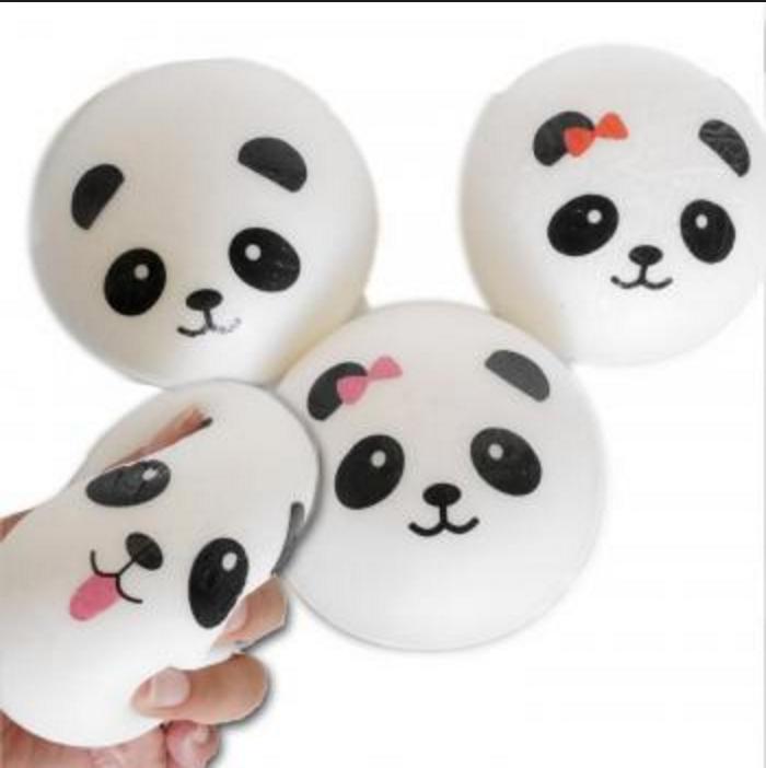 Panda Bun Squishy Mini : Jual PANDA BUN MINI SQUISHY - PURRFECT Tokopedia