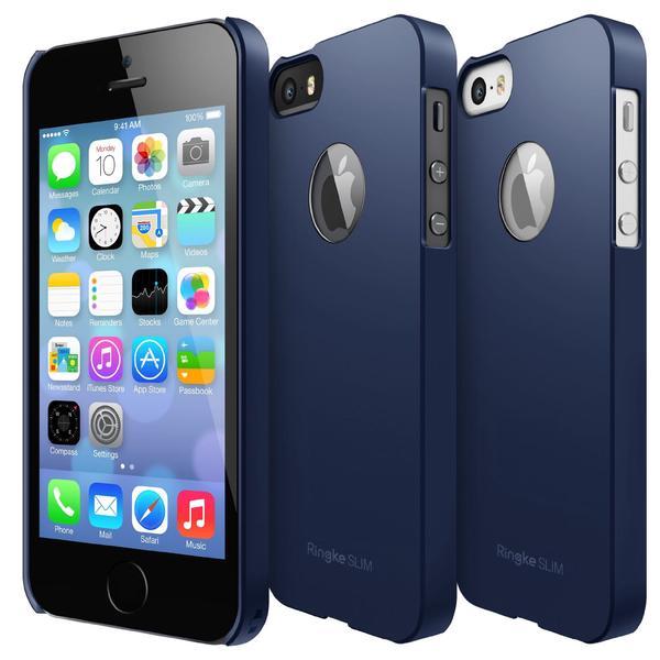 Rearth Ringke Slim Hard Case iPhone 5 - 5S - SE - SF Navy Blue