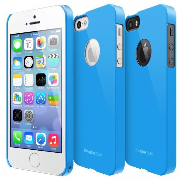 Rearth Ringke Slim Hard Case iPhone 5 - 5S - SE - Sea Blue