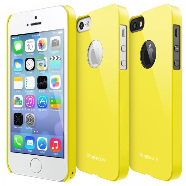 Rearth Ringke Slim Hard Case iPhone 5 - 5S - SE - Yellow