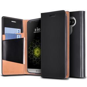 Rearth Ringke Signature Leather Case LG G5 - G5 SE - Black
