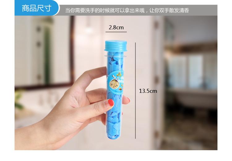 Sabun Kertas Warna - Warni / Travelling Paper Soap Portable
