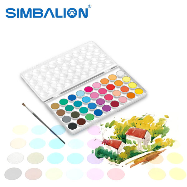 Simbalion Watercolor Cakes 36