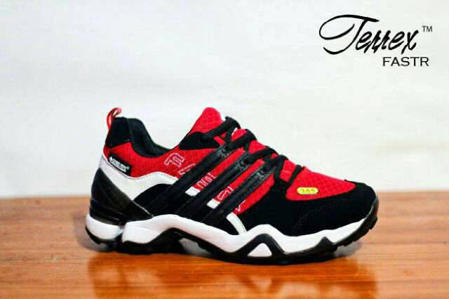 adidas terrex fastr red black Murah