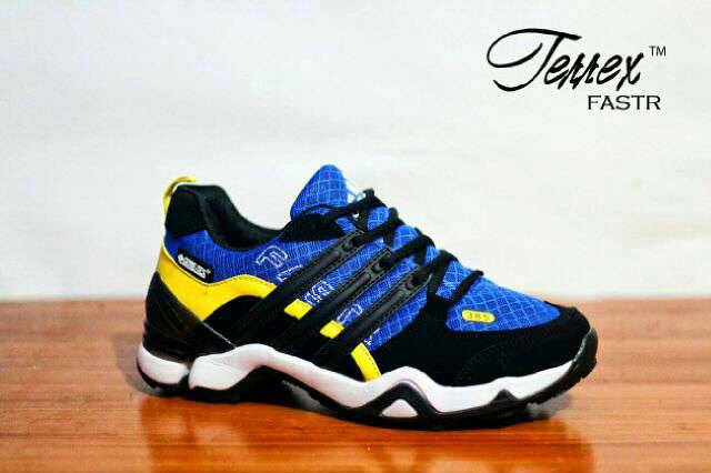 adidas terrex fastr blue black Murah