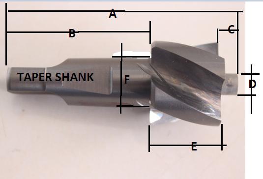 Counter Bor 23 | Bor Step | Step Drill | Bor Kepala Baut Counterbor
