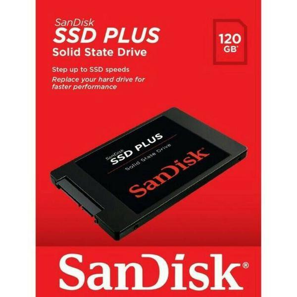 Ssd Sandisk Plus 120gb / Harddisk Internal / Hardisk Ssd