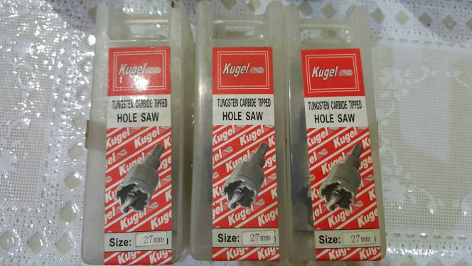 Kugel (Tungsten Carbide Tipped) Hole Saw (27 Mm)