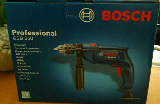 Bosch - Bor Beton Impact Drill GSB 550