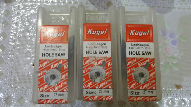Kugel (Lochsagen) High Speed Steel - Hole Saw (27 Mm)
